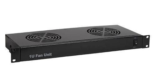 1U 2-fan fan unit