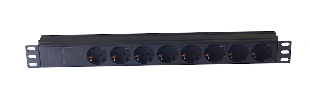 8 way Germany type PDU with Neutrik Connector