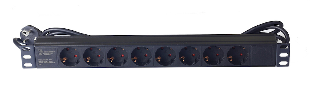 8 way Germany type PDU without switch