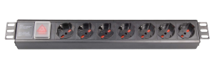 1.5U 7-outlet Italy Universal PDU