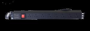 1U 8-outlet China PDU
