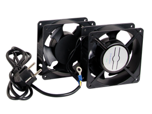 Fans for wall mounted cabinet