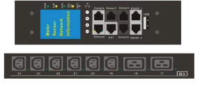 Metered-by-Outlet with Switching PDU (18 IEC C13 6 IEC C19)