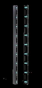 Vertical cable management slot